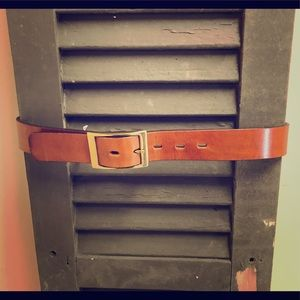 EUC HAROLD POWELL MADE IN FRANCE BELT
